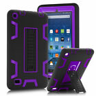 For Amazon Kindle Fire HD 8 7th Gen 2017 Case Cover Kids Safe W/Stand ShockProof