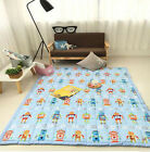 195x145CM Modern Extra Thick Large Kids Baby Play mat Rug Non Slip Soft Gym Mat