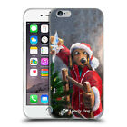 OFFICIAL LONELY DOG CHRISTMAS SOFT GEL CASE FOR APPLE iPHONE PHONES