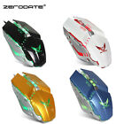 Adjustable DPI Optical LED Wired Gaming Game Mouse Mice for Laptop PC Pro Gamer