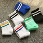 1pair Classic 6 Color New Cotton Stripe Socks Female Retro Soft Comfort
