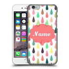 CUSTOM CUSTOMISED PERSONALISED DROPLET PATTERNS CASE FOR APPLE iPHONE PHONES