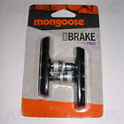 NEW NOS MONGOOSE BMX BiCYCLE BiKE LiNEAR DiRECT PULL V BRAKE PADS SET BLUE BLACK