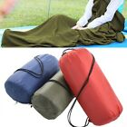 Portable Outdoor Travel Camping Sheet Fleece Warm Sleeping Bag Liner Tent Mats