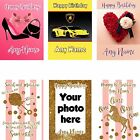 PERSONALISED BIRTHDAY CARD CHILDREN BOYS GIRL MALE FEMALE GREETING CARDS