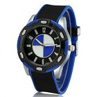 BMW Fan Watch Fashion Casual Wristwatch Resin Band Men Sport Business Luxury M3Wristwatches - 31387