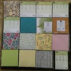 Stampin' Up Retired 6 x 6 DESIGNER SERIES PAPER, NEW, CHOICE