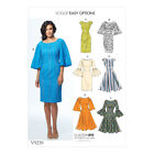 Vogue Sewing Pattern Misses Princess Seam Dresses | V9239