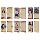 OFFICIAL FRIDA KAHLO PORTRAIT LEATHER BOOK WALLET CASE FOR APPLE iPOD TOUCH MP3