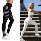 Women Yoga Fitness Leggings Workout Gym Stretch Sports High Waist Pants Trousers