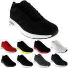 Mens Cushioned Running Walking Sports Gym Lightweight Athletic Trainers UK 3-10