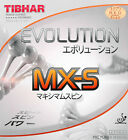 Tibhar Evolution MX-S Table Tennis Racket Rubber Ping Pong 2.1mm Red Black