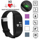 H3 Smart Bluetooth Sports Bracelet Wristband Heart Rate Monitor Fitness Tracker