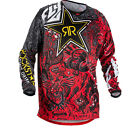 Fly Racing 2018 Kinetic Rockstar Motocross Jersey Mens Dirt Bike Enduro Shirt