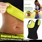Thermo Sweat Neoprene Body Shaper Slimming Waist Trainer Cincher Yoga Vest New
