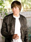 17 again 2 - Oblow 17 Again Zac Efron Wrinkled Washed Leather Jacket