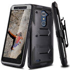 For ZTE Zmax Pro Z981/Blade X Max Z983 Hybird Stand Impact Armor Hard Case Cover
