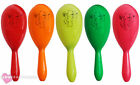 NEON MARACAS MEXICAN FANCY DRESS SHAKERS PARTY ACCESSORIES NOVELTY COSTUME PROP