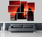 Beautiful Exotic Sunset View Removable Self Adhesive Wall Picture Poster EX 1299