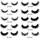 1Pair 3D Women False Eyelash Multilayer Natural Extension Eyes Makeup Cosmetic