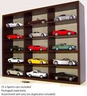 Wood Display Case with or without models, 1:43 Aston Martin,Nissan,Jaguar,Merced