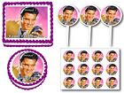 Elvis Presley  Edible Frosting  Birthday Party Cake Cookie Topper Cupcake Pick