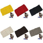 winter fashion for ladies - Fashion Winter Warm knitted Wool Crochet Snood Elastic Head band Warp For Ladies