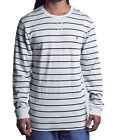 Volcom Long Sleeve Thermal Shirt Men's Regit Stripe Tee Choose Size