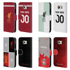 CUSTOM PERSONALISED LIVERPOOL FC 2017/18 LEATHER BOOK CASE FOR SAMSUNG PHONES 1