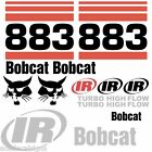 ANY MODEL Bobcat 883 DECALS Stickers Skid Steer loader New Repro decal Kit