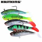 3pcs/lot KastKing New Hot Soft Fishing Lure Long Tail Pesca Sharp Hook Fish Bait