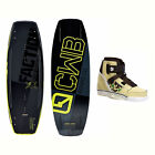 CWB Faction Wakeboard With Howl Bindings 2017