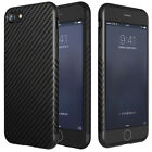 Luxury Shockproof Carbon Fiber Silica Slim Case Cover for iPhone 7 8 8Plus X