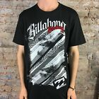 Billabong Militia Short Sleeve T-Shirt in Black Size S,L