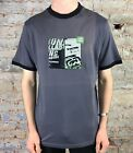 Billabong Shifter Short Sleeve Brand New T-Shirt in Grey Size S