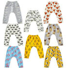 Cartoon Printed Children's Casual Trousers Harem Baby Pant Leggings Autumn new