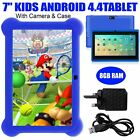 7  INCH KIDS ANDROID 4.4 TABLET PC QUAD CORE WIFI Camera UK STOCK CHILD CHILDREN