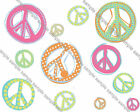 Peace Symbol 1 Iron On Transfer