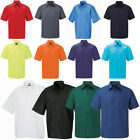 New Men's Russell Collection Short Sleeve Easy Care Poplin Polo Shirt Size S-4XL