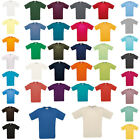 Mens B&C Collection Cotton Exact 150 Short Sleeve Crew Neck T-Shirts Size XS-4XL