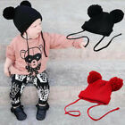 Winter Newborn Baby Girl Boy Kid Warm Bobble Knit Beanie Hat Crochet Cap Hat New