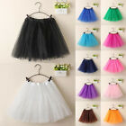 Women's Fashion Dancewear Tulle Tutu Mini Ballet Pettiskirt Princess Party Skirt
