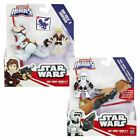 Star Wars Action Figures 2 Pack Playskool Galactic Heroes Han Solo Scout Trooper