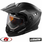 2020 CASTLE EXO-CX950 Snowmobile Helmet Elect Shield Matte Black SM MD LG 2X 3X