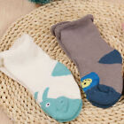 1Pair Baby Shoes Sock Cotton Anti-Slip Slipper Shoes Boots for 0-24 Months