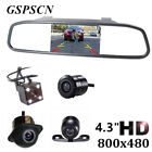 4.3 inch Car HD Rearview Mirror Monitor CCD Video Auto Parking Night vision....