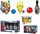 Spiderman Spider man / Avengers / Minion Despicable Me Skittle Bowling Set Game