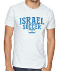 Israel Team Soccer T-shirt Adults Men's Soccer Jersey 100% cotton Any Sports image