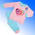 Girls Official Genuine My Little Pony Pyjamas Baby Age 6 Months - 2 Years #MLP