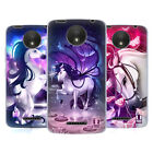 HEAD CASE DESIGNS ENCHANTED UNICORNS SOFT GEL CASE FOR MOTOROLA MOTO C PLUS